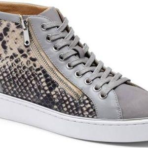 Vionic Lace-up High-Top Sneakers - Torri